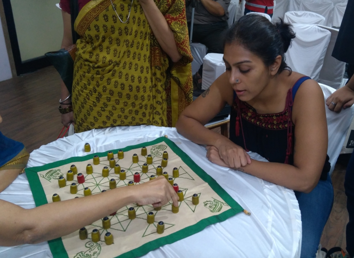 A game in progress at the Conference