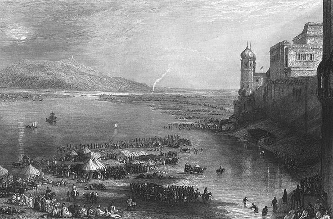 Kumbh Mela in the 1800s