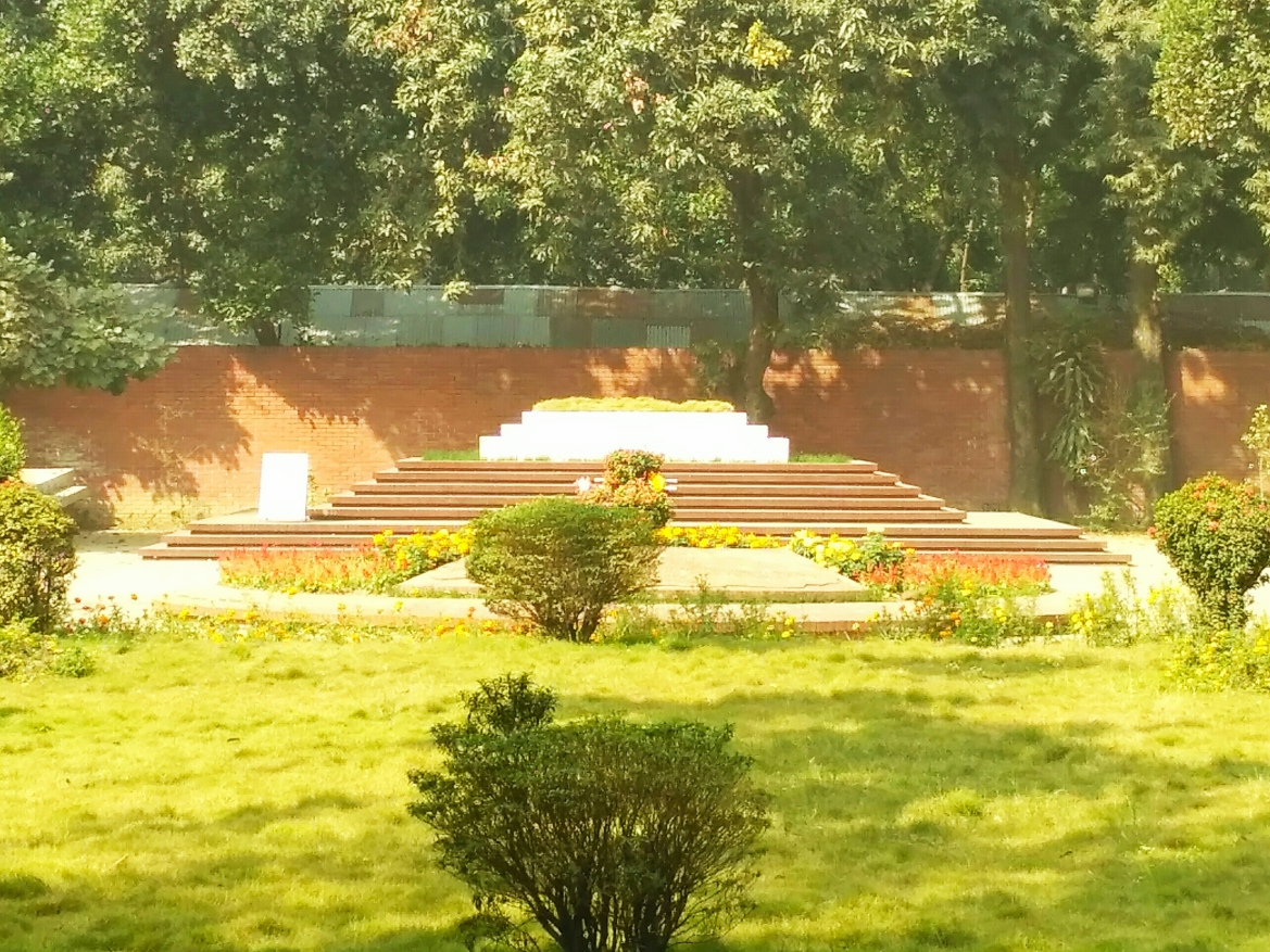 Nazrul's mausoleum in Bangladesh