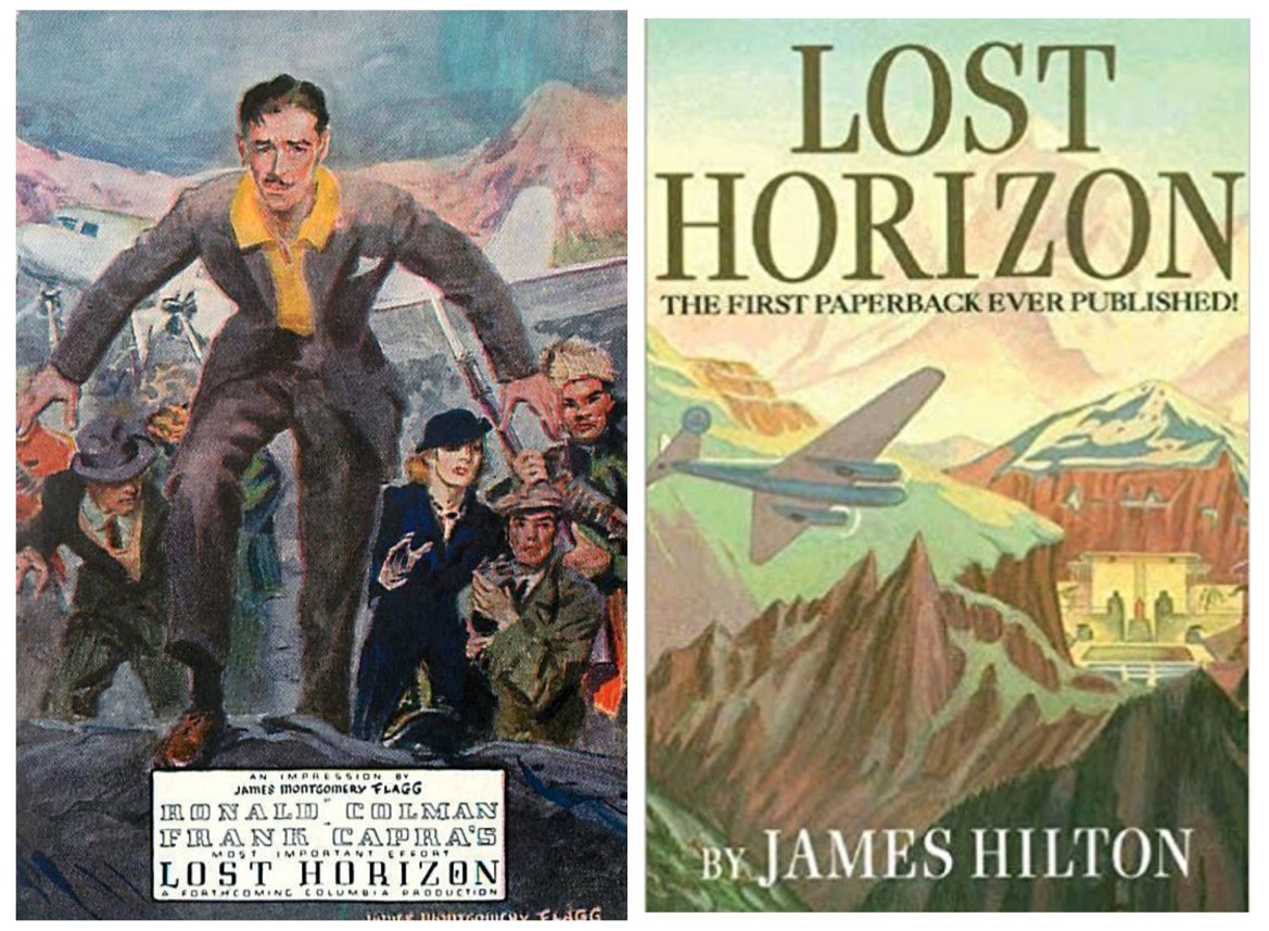 Lost Horizon movie (1937) and book (1933)