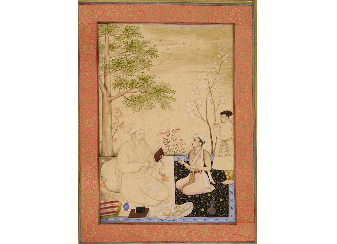 Dara Shikoh With A Tutor, attributed to Chitarman, c. 1630