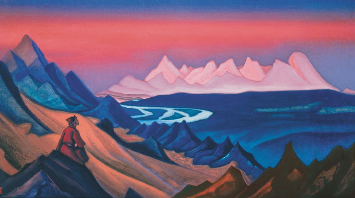 Nicholas Roerich Painting of the 'Song of Shambhala'