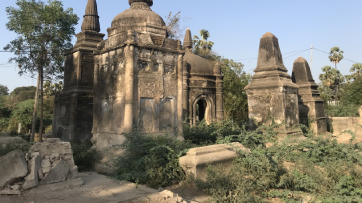 Dutch cemetery in Bharuch