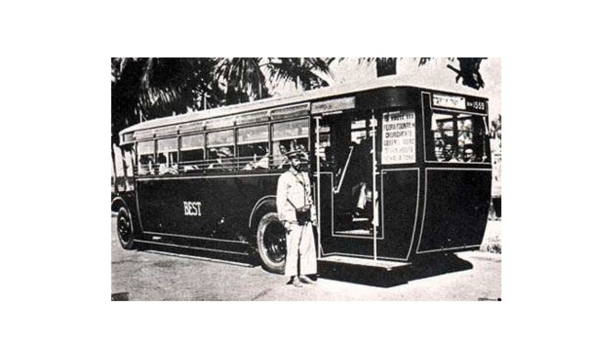 An early BEST bus