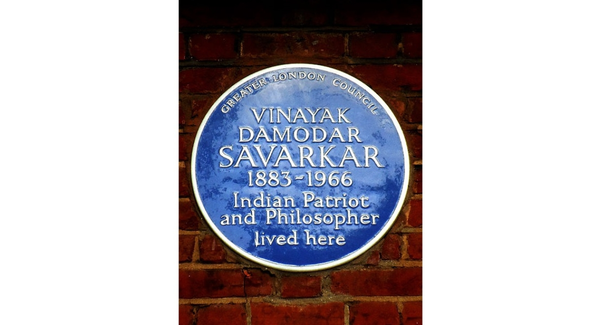 Plaque on India House