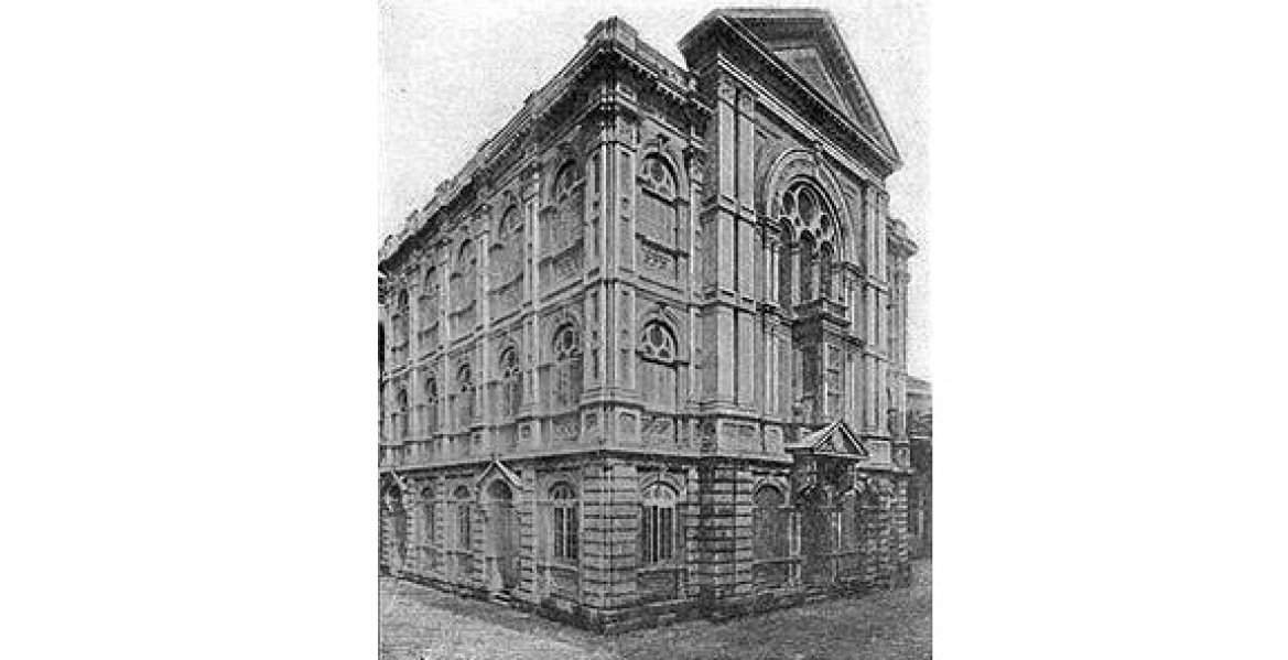 The Keneseth Eliyahoo Synagogue in the 19th Century