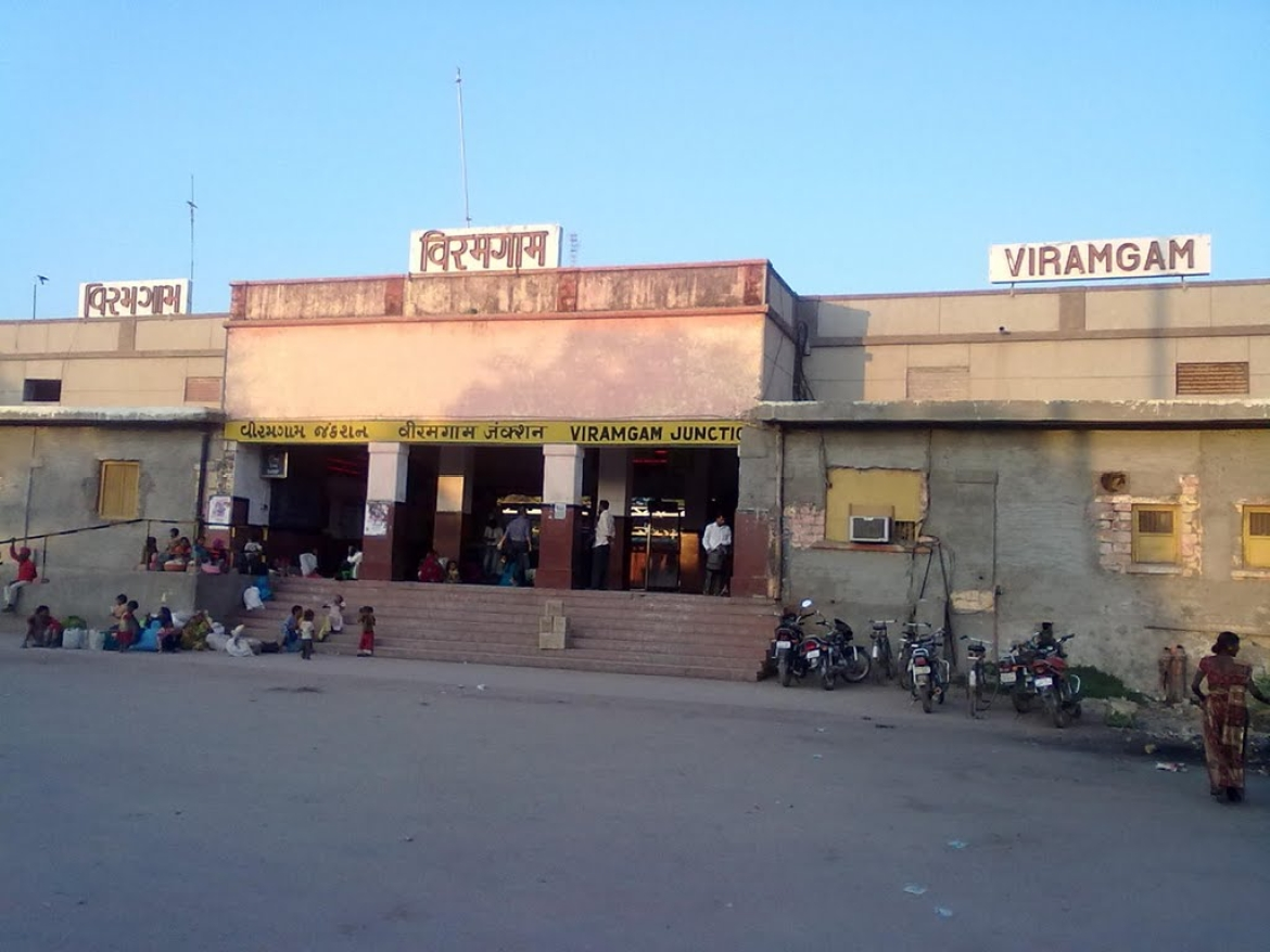 The Viramgam Railway Station today