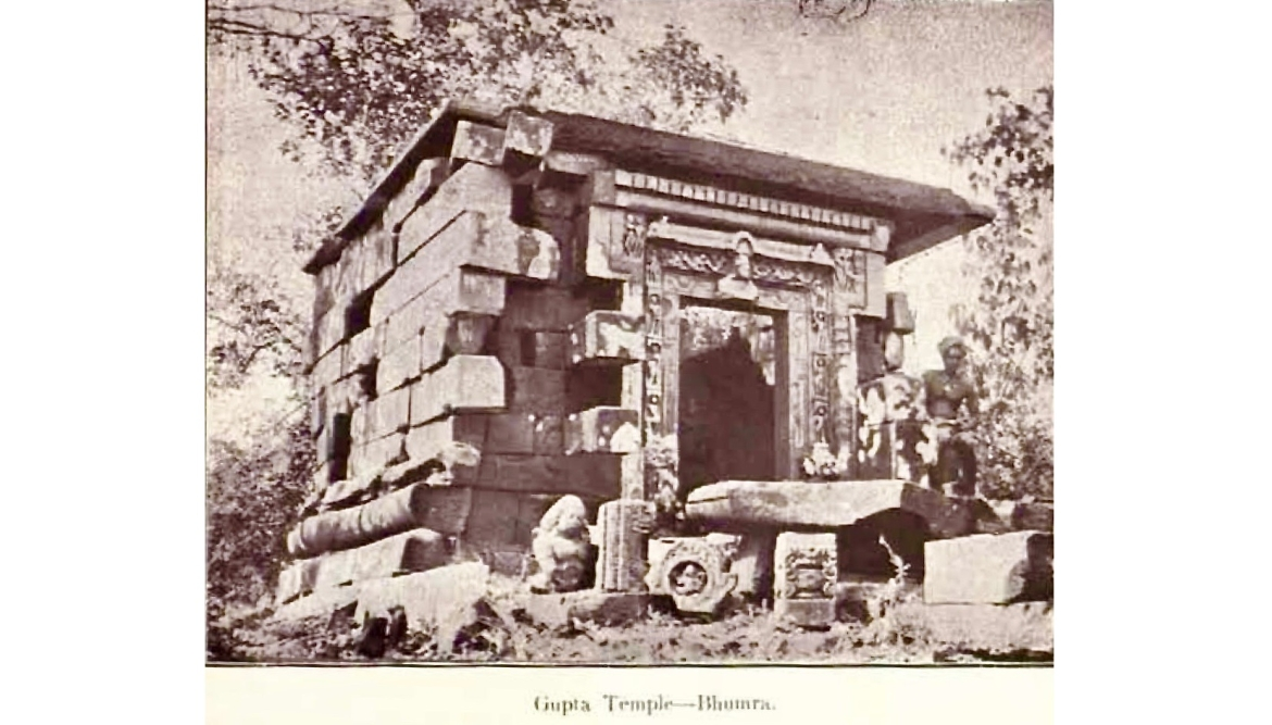 Shiva Temple, Bhumara in the 1920s