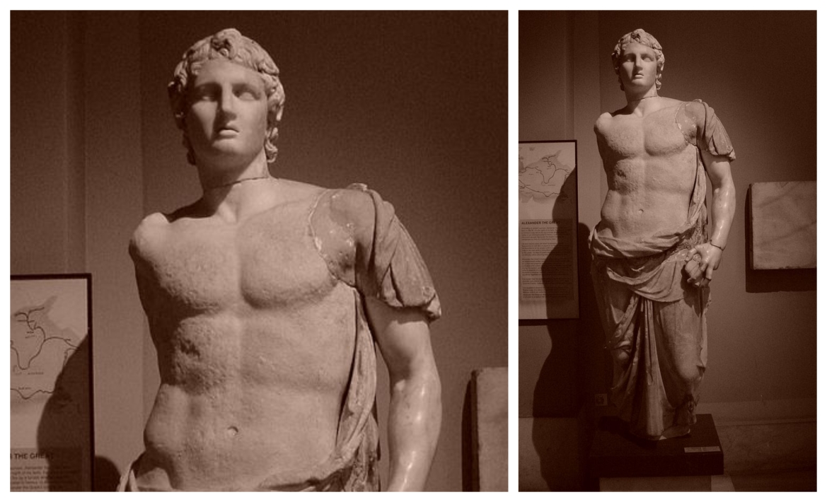 3rd century BCE statue of Alexander in Istanbul Archaeology Museum