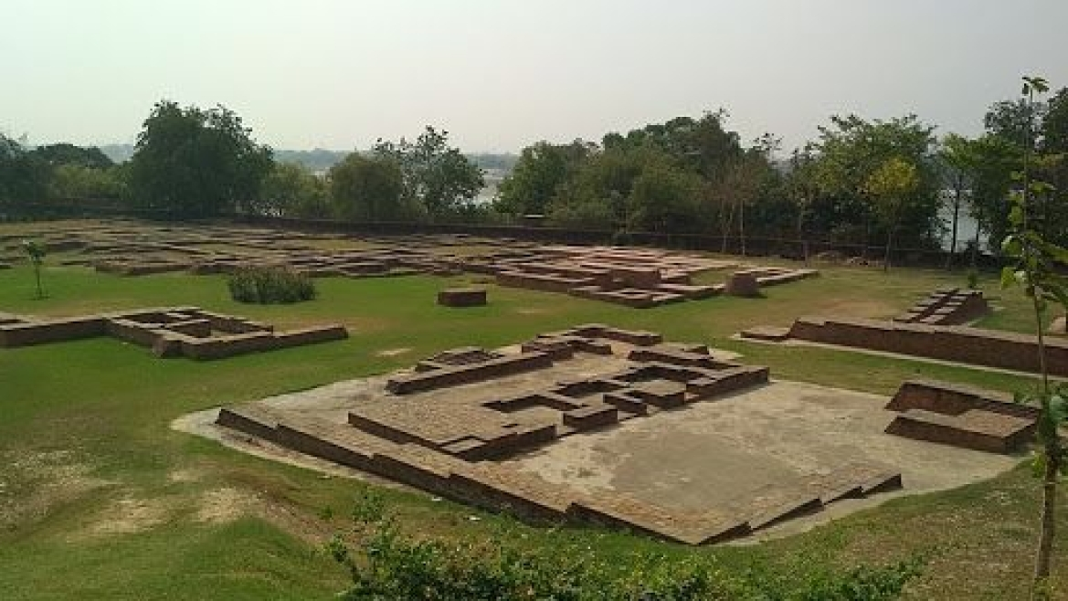 The archaeological site situated near the Rajghat Fort in Varanasi