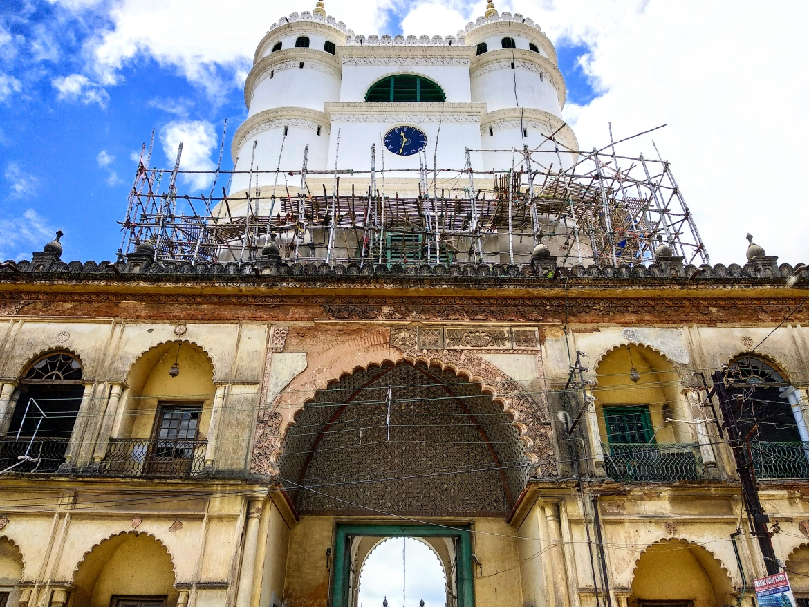 Entrance gate of Hooghly Imambara