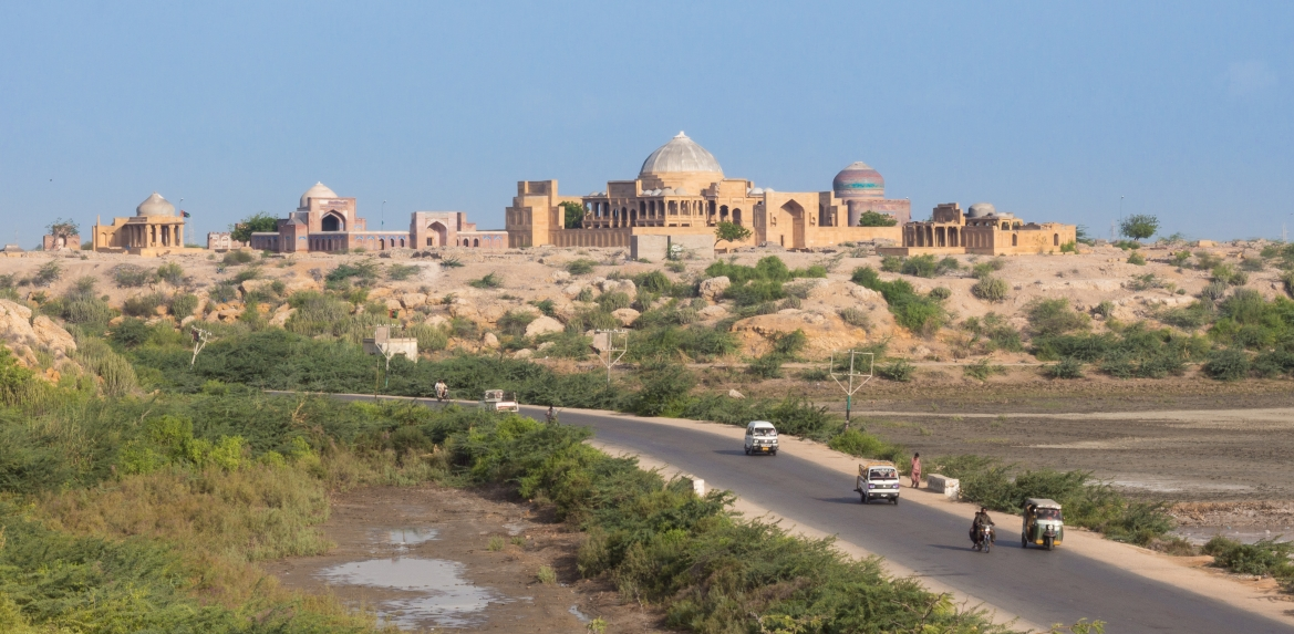 Overview of Makli Hill