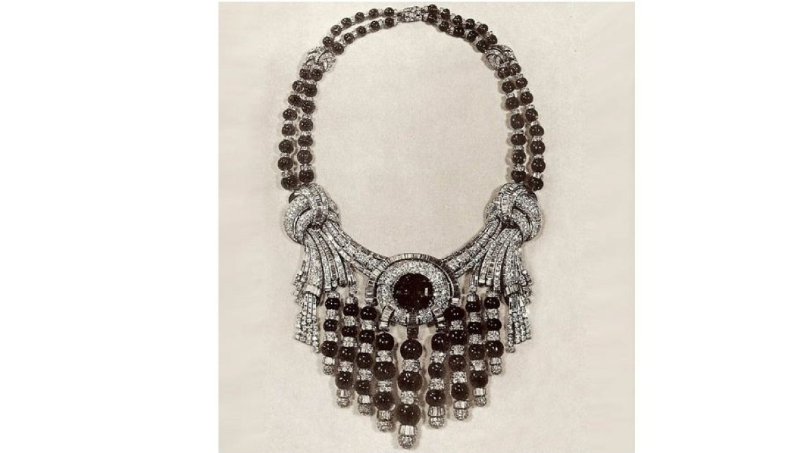 Necklace comissioned by a Maharaja