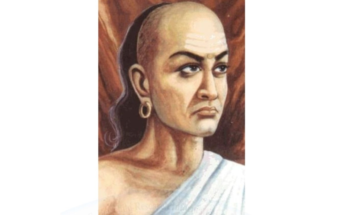 Artistic representation  of Chanakya