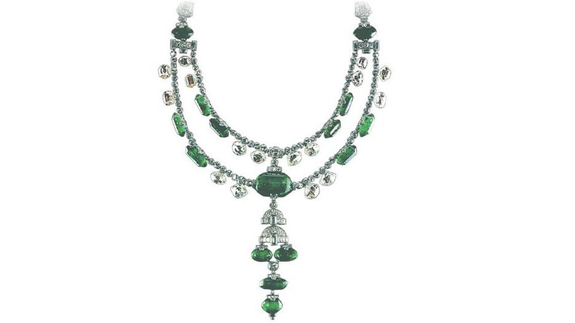 Necklace designed for the Maharaja of Indore
