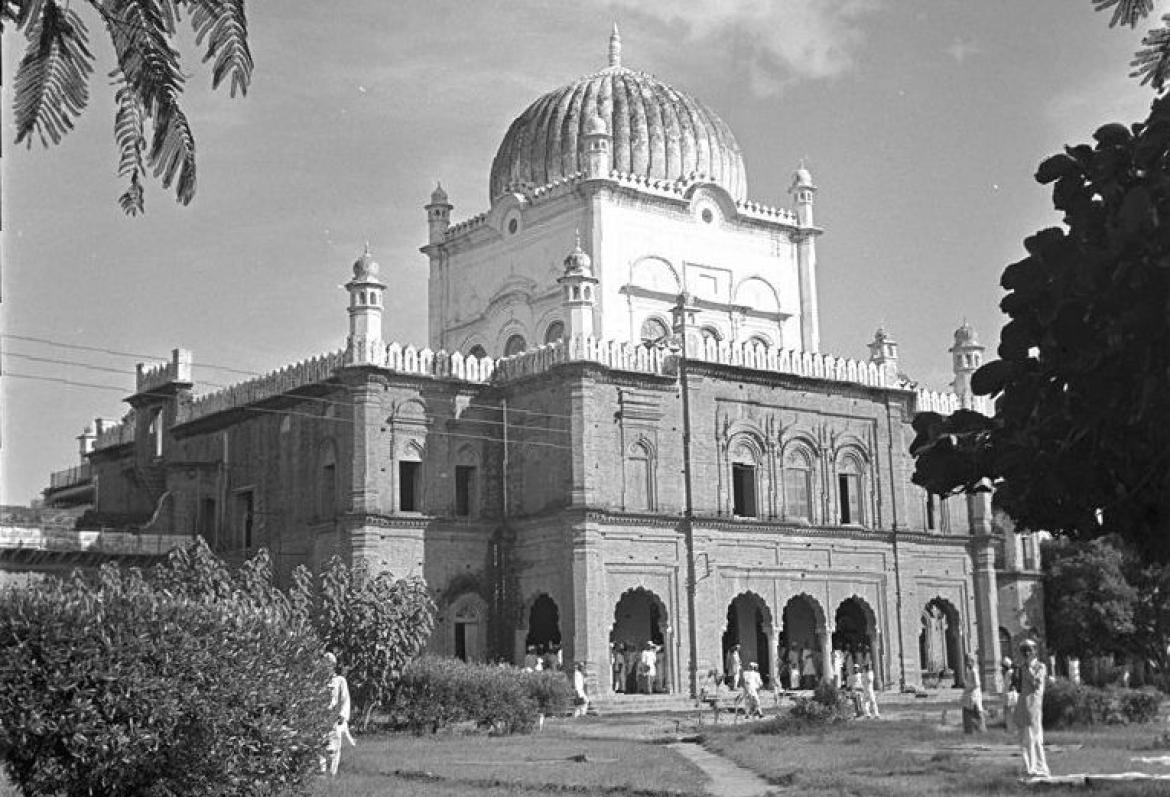 A historic view of Darul Uloom Deoband