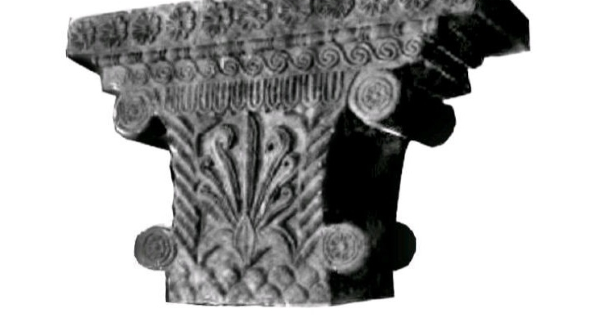 Greek column found in Pataliputra