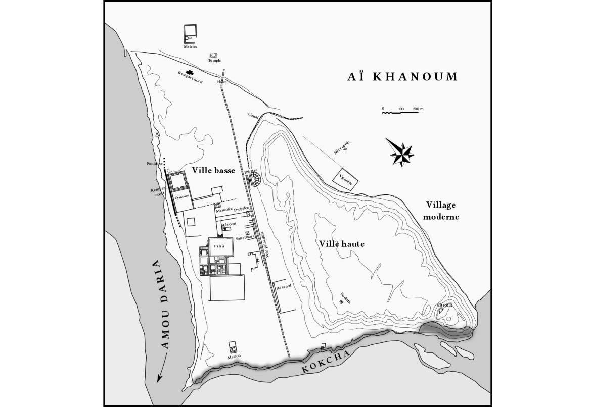 Plan for the city of Ai-Khanum