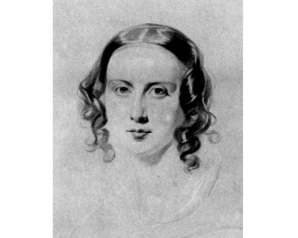 Catherine Hogarth Dickens by Samuel Lawrence (1838)