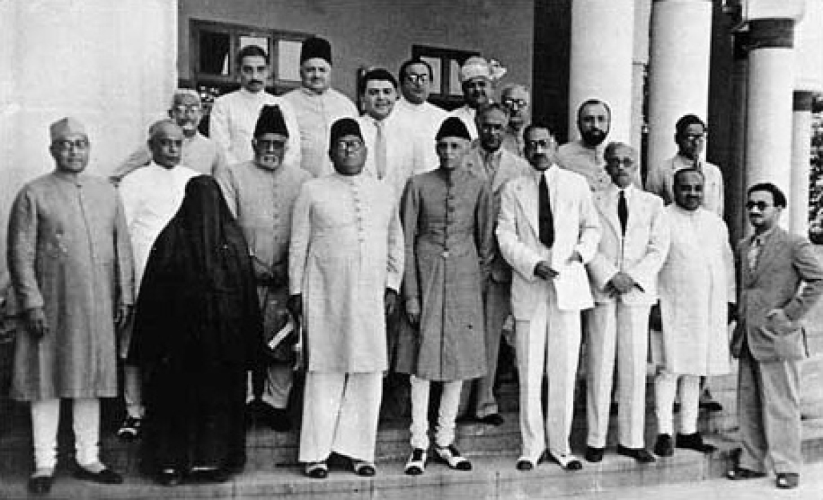 Muslim League Working Committee at the Lahore session