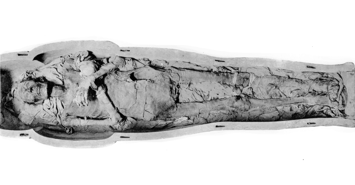 Ramesses II's mummy