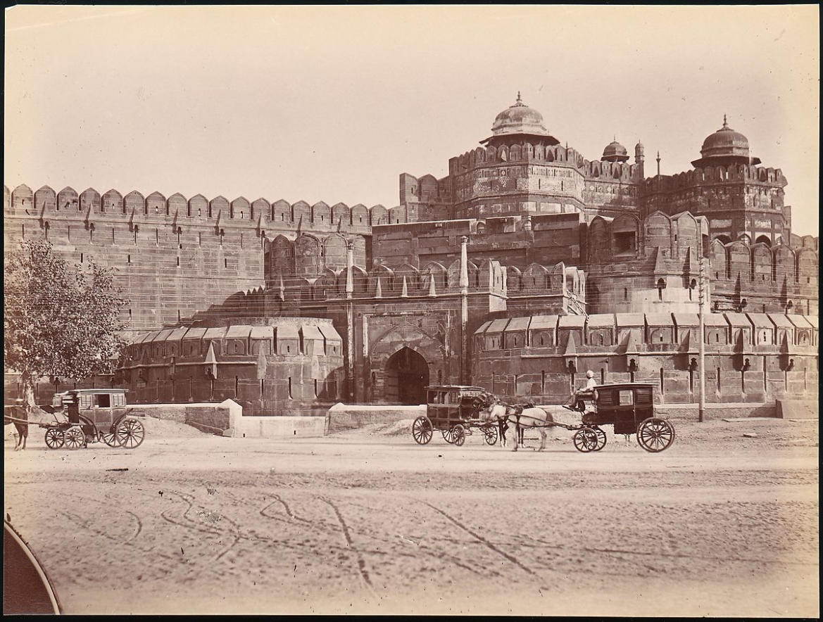 Red Fort during 1860s-70s