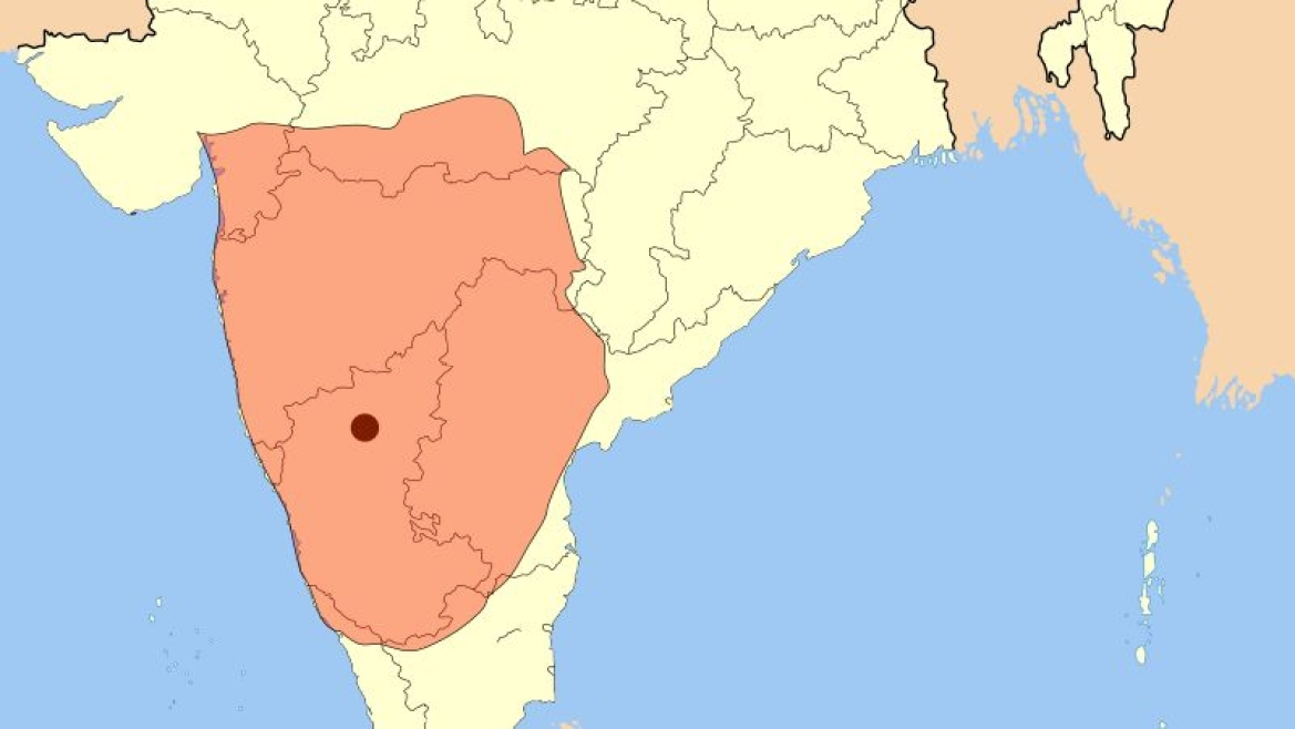 Extent of the Badami Chalukyas empire