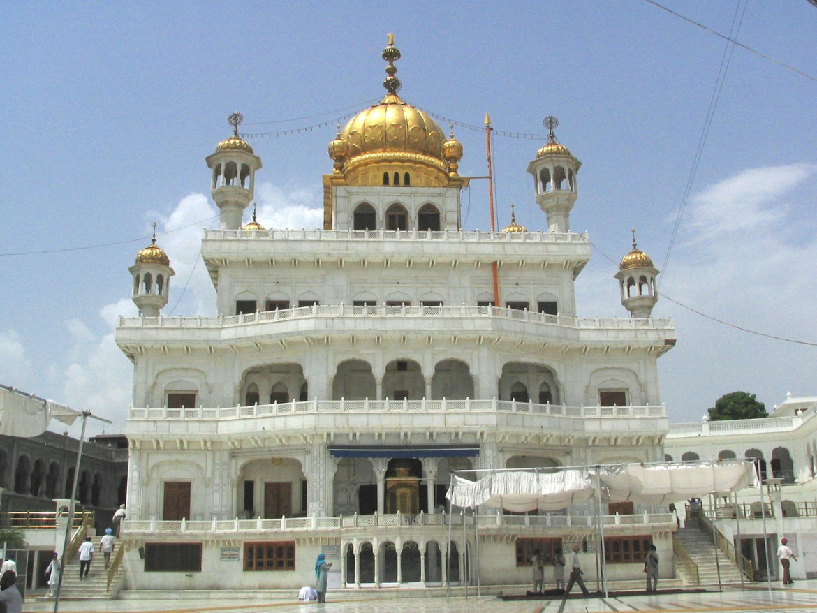 Akal Takht in the Golden Temple complex