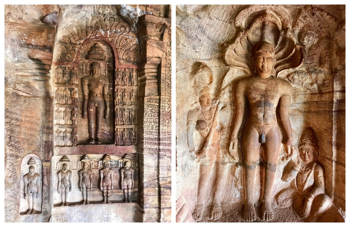 Images of Mahavira and Parshvanatha in Cave 4