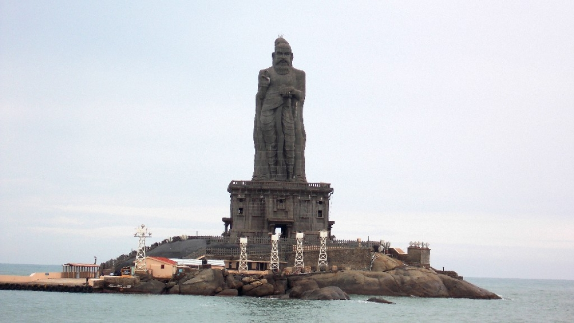 Statue of Tiruvalluvar, at Kanyakumari