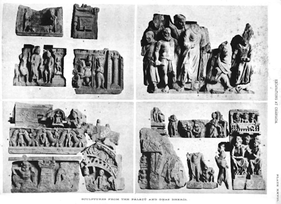 Buddhist Statuary from the Charsadda Excavations