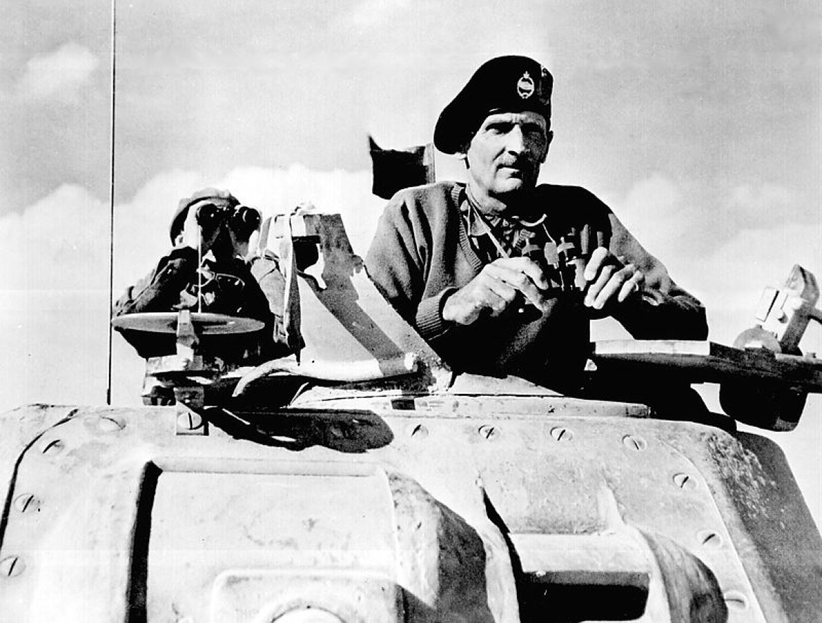 Field Marshal Bernard Law Montgomery, 1st Viscount Montgomery of Alamein - He was the Commander of the Allied Forces at the 2nd Battle of El Alamein