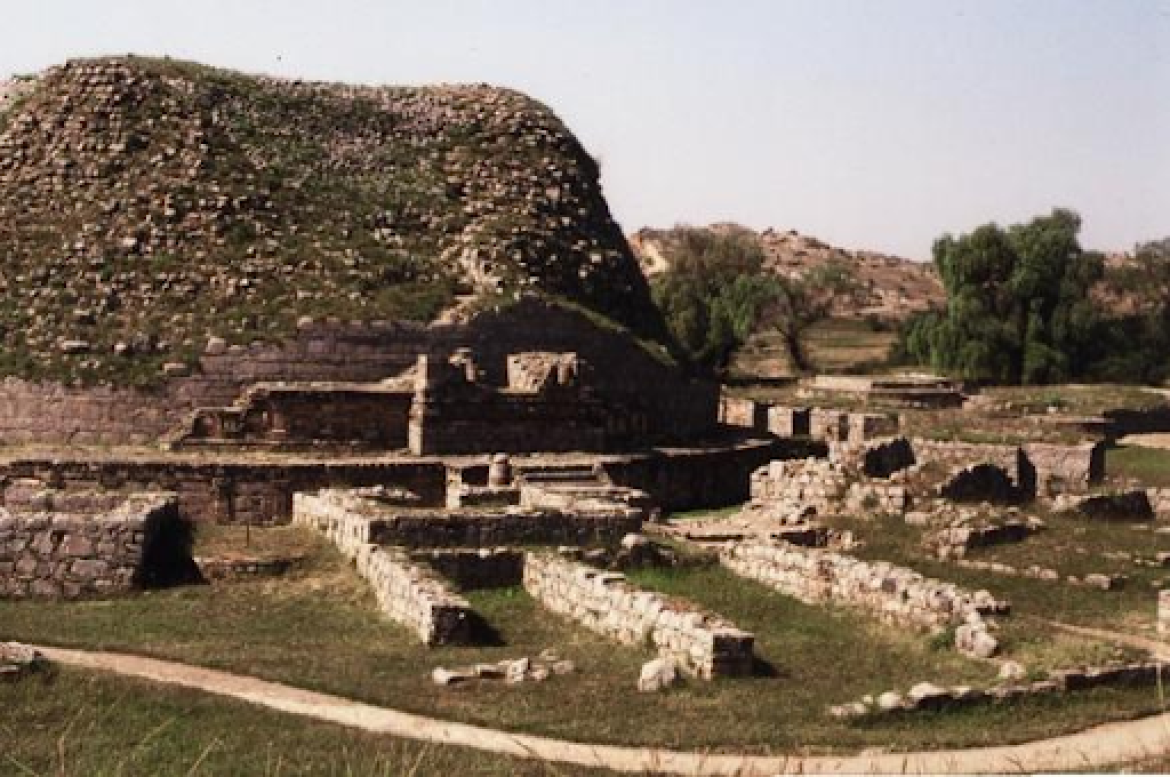 Dharmarajika Stupa at Taxila
