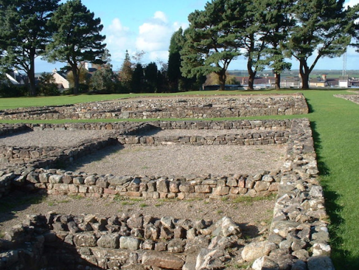 Roman Barracks at the site of Sergontium