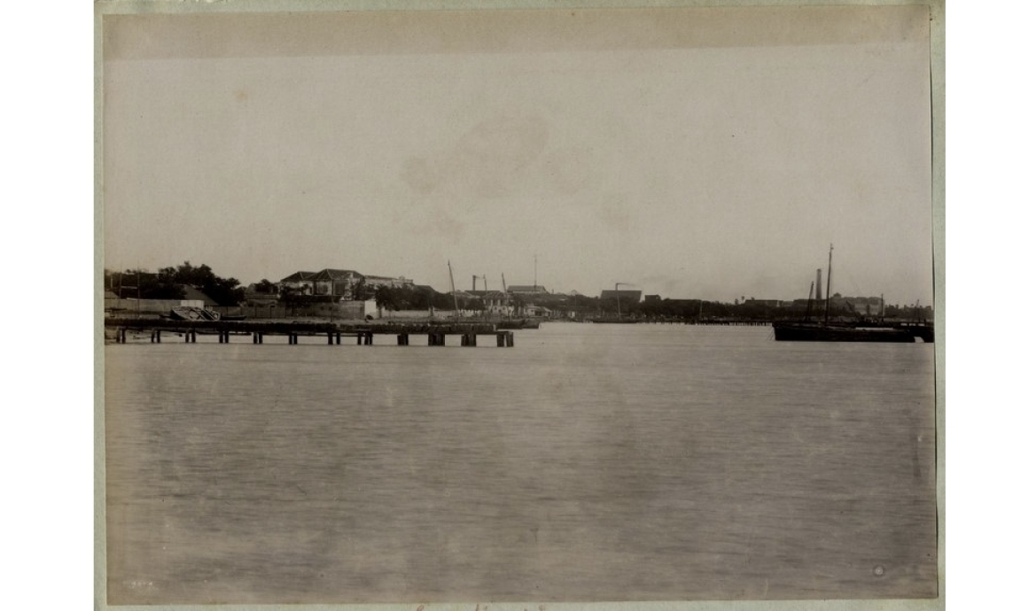 Port of Tuticorin in the 1890s