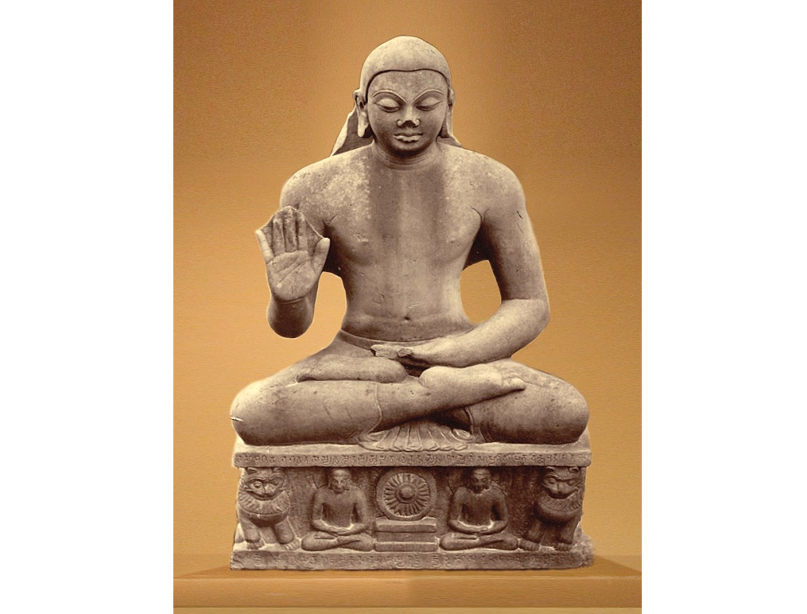 The Mankuwar Buddha, dated to the end of the reign of Kumara Gupta I in 448 CE