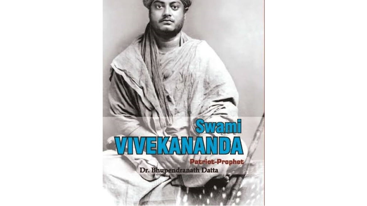 Cover image of Bhupendranath's book 'Swami Vivekananda: Patriot-Prophet'