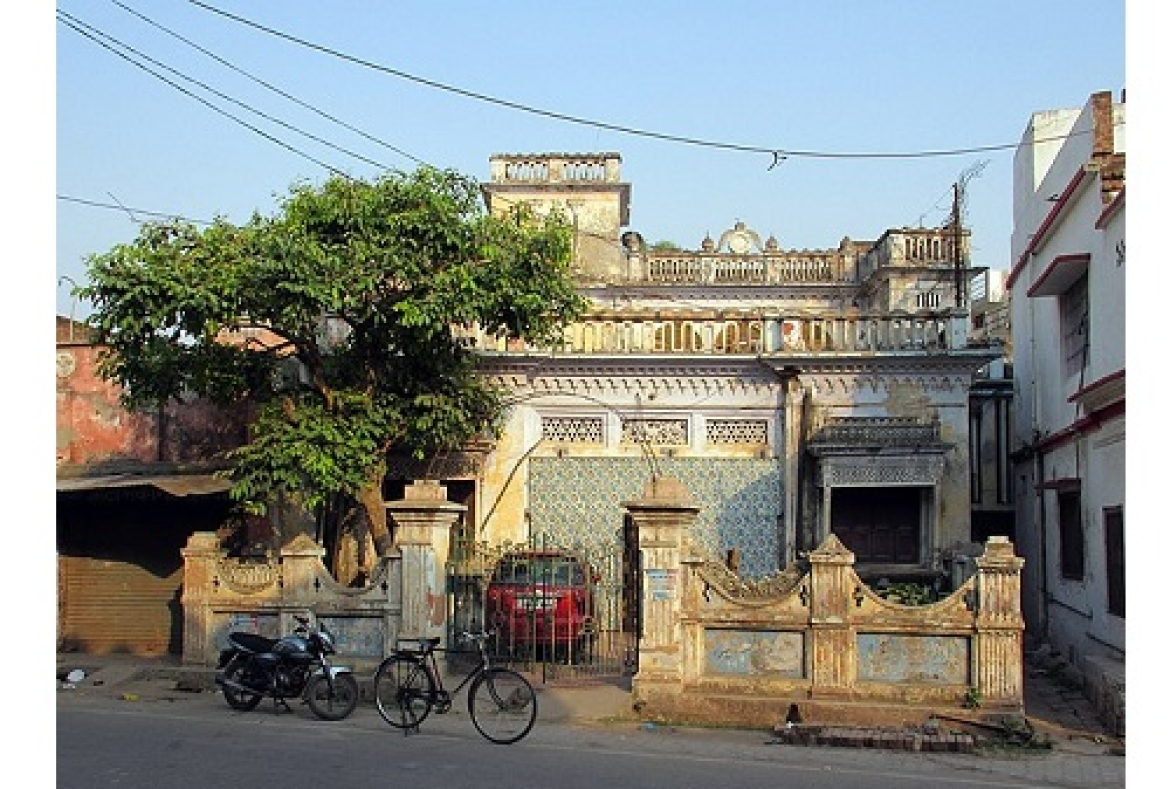 Begum Akhar's house in Faizabad