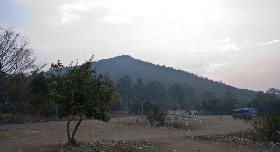 Susunia Hill, from where the duo was arrested