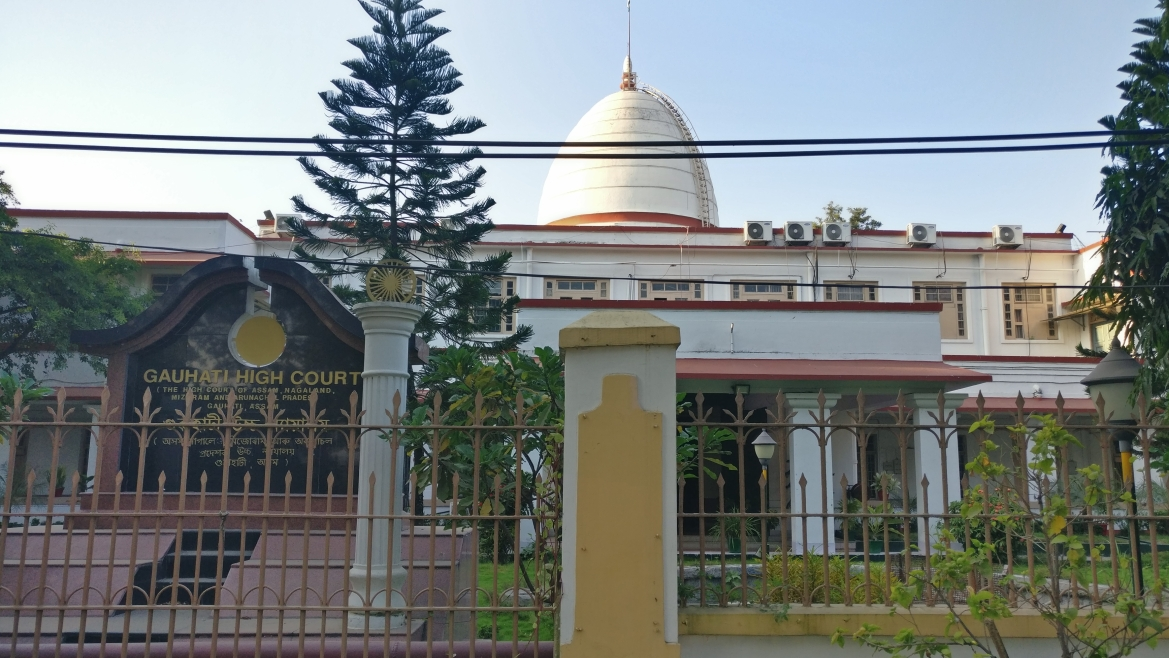 Gauhati High Court buiding