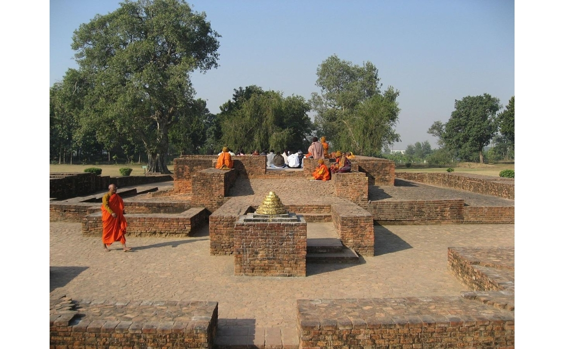 The Gandhakuti (or the Mulagandhakuti) at Shravasti
