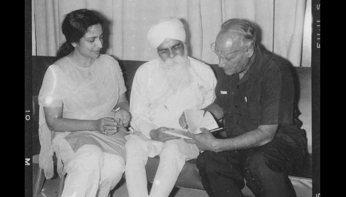 Stalwarts of Punjabi art and literature - Amrita Pritam, Gurbaksh Singh and MS Randhawa