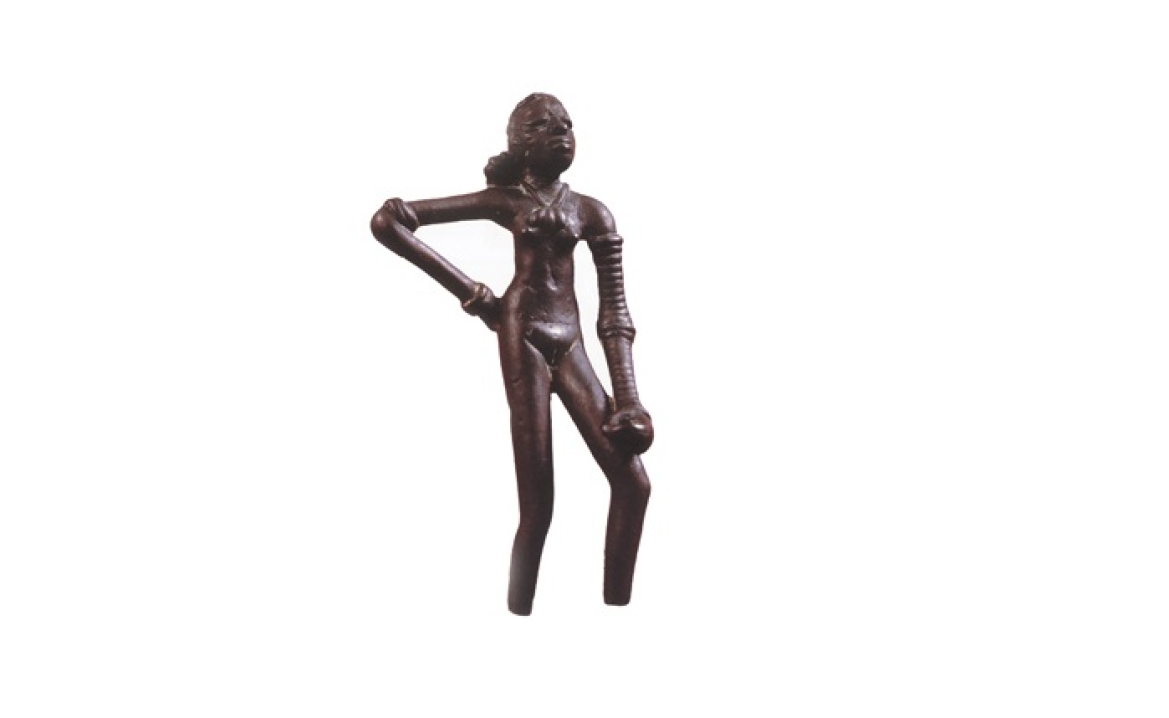 The dancing girl from Mohenjo-daro