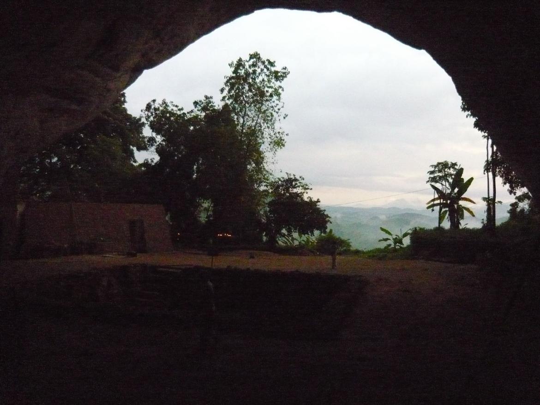 Fa Hien's cave in Sri Lanka