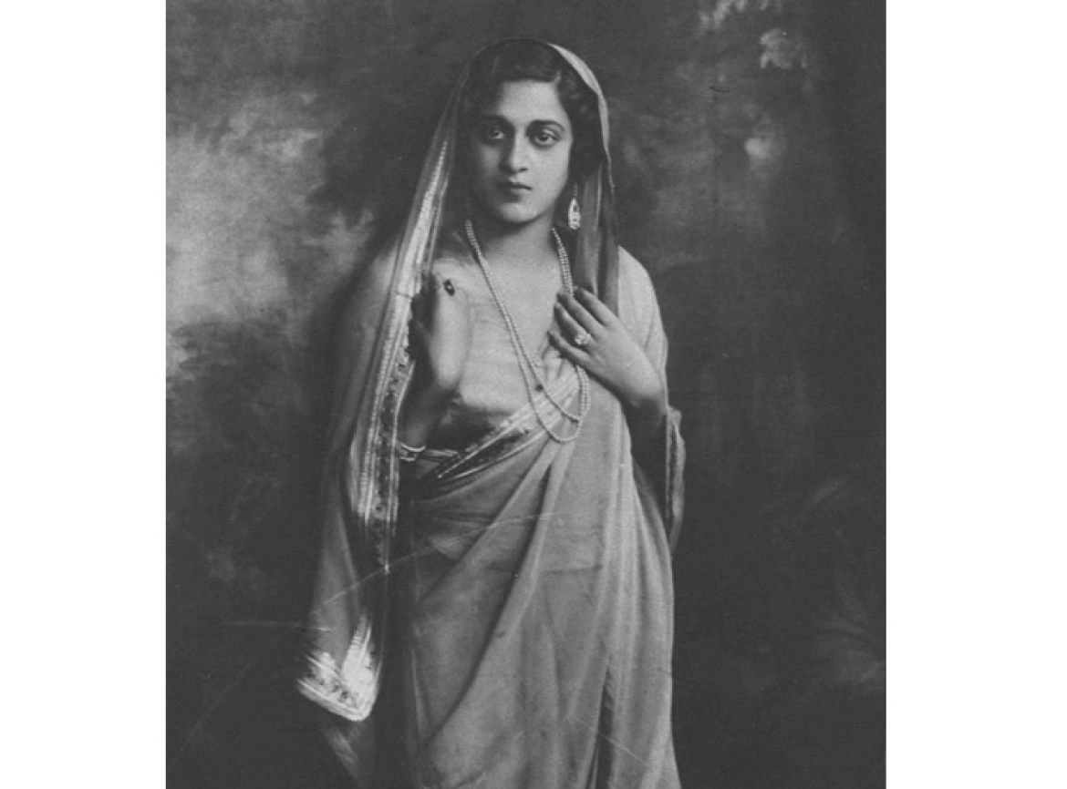 Bijoli Sinha, the youngest daughter of Satyendra Prasanna Sinha