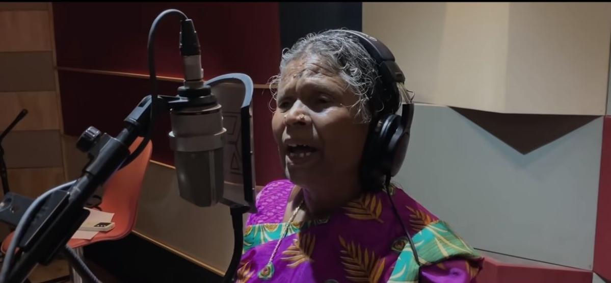 'அய்யப்பனும், கோஷியும்' Kalakkatha என்ற வைரல் பாடல் பாடிய நஞ்சம்மா