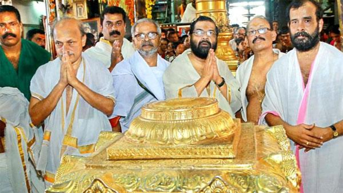 CPM leadership expresses displeasure over the temple visit of Kadakampally Surendran