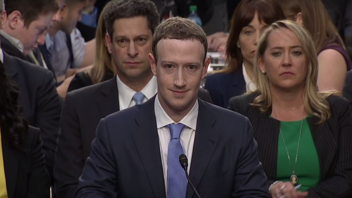 My own data was shared by Cambridge Analytica, says Zuckerberg to US Congress