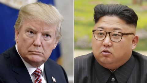 Time and place set for discussion with Kim Jong Un, says Donald Trump