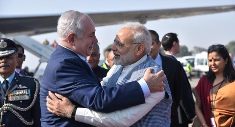 Israel Prime Minister Benjamin Netanyahu kicks off six-day visit to India